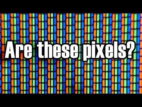 These Are Not Pixels: Revisited