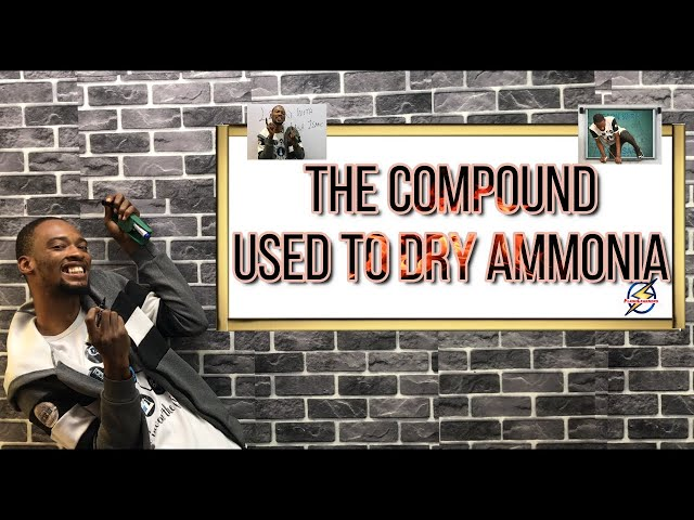 Compound Used to Dry Ammonia | Chemistry Past Question And Answer (2021 Prep)