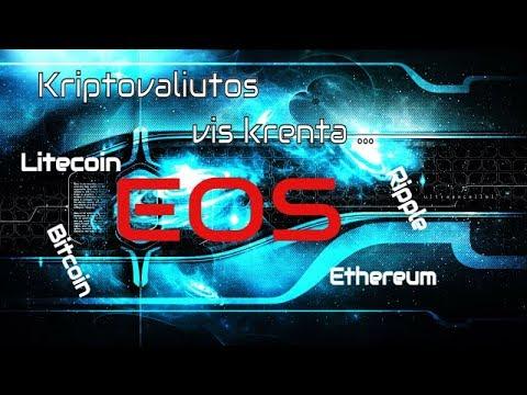 prekyb kriptovaliutomis)
