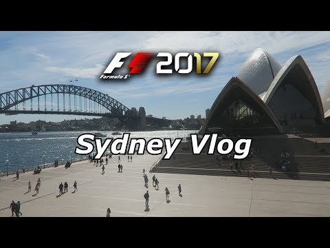 FLYING TO SYDNEY TO PLAY F1 2017