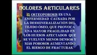 DOLORES ARTICULARES Y OSTEOPOROSIS PRIMERA PARTE