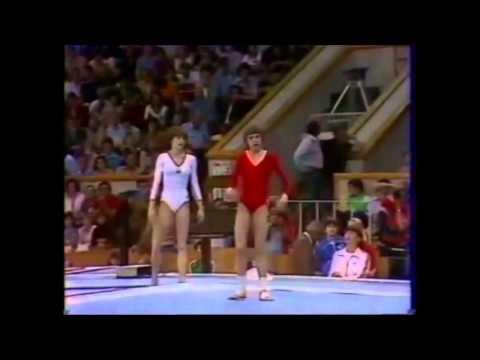 1980 Olympics Gymnastics : women vault & floor EF