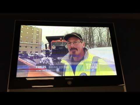 Snow Team on FOX 25 News