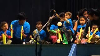 Pukewa te kohanga reo tamariki perform at Matariki Concert