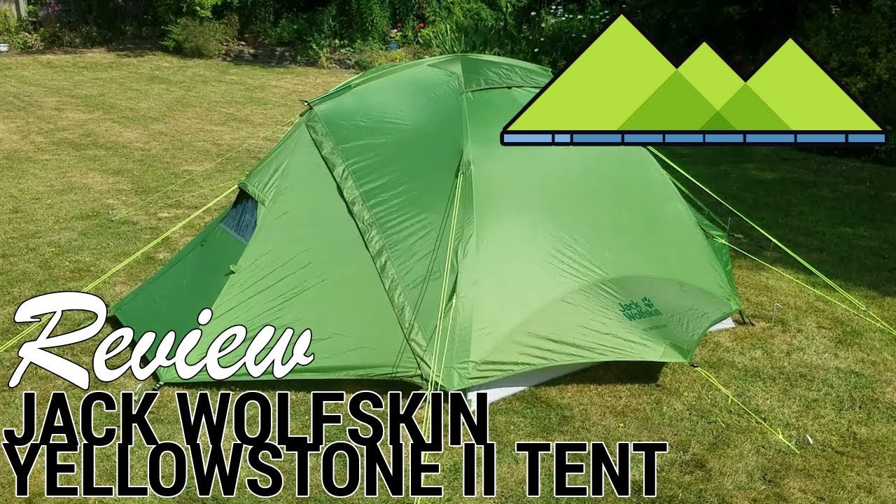 Jack Wolfskin two person tents for summer touring a review