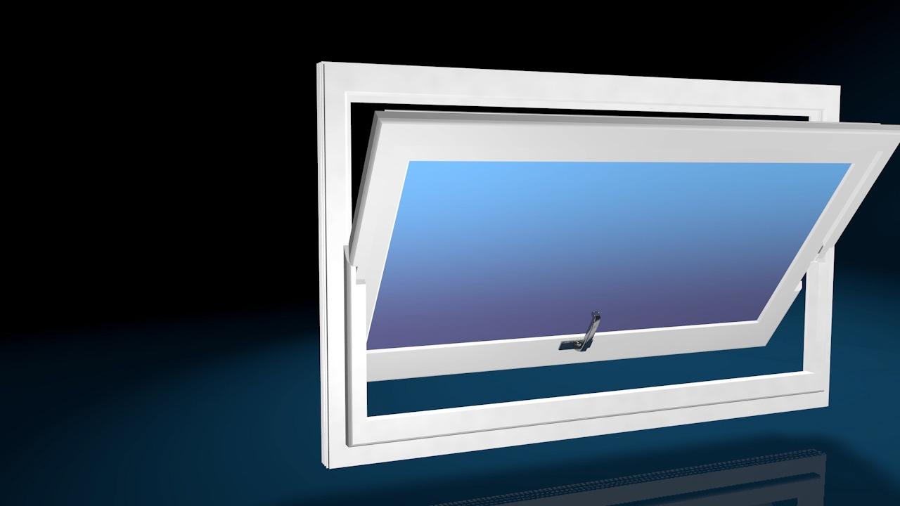 Finestra a bilico masterplast finestre in pvc vasistas youtube - Finestra a bilico ...