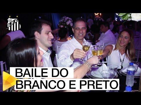 Santos FC realiza Baile do Branco e Preto