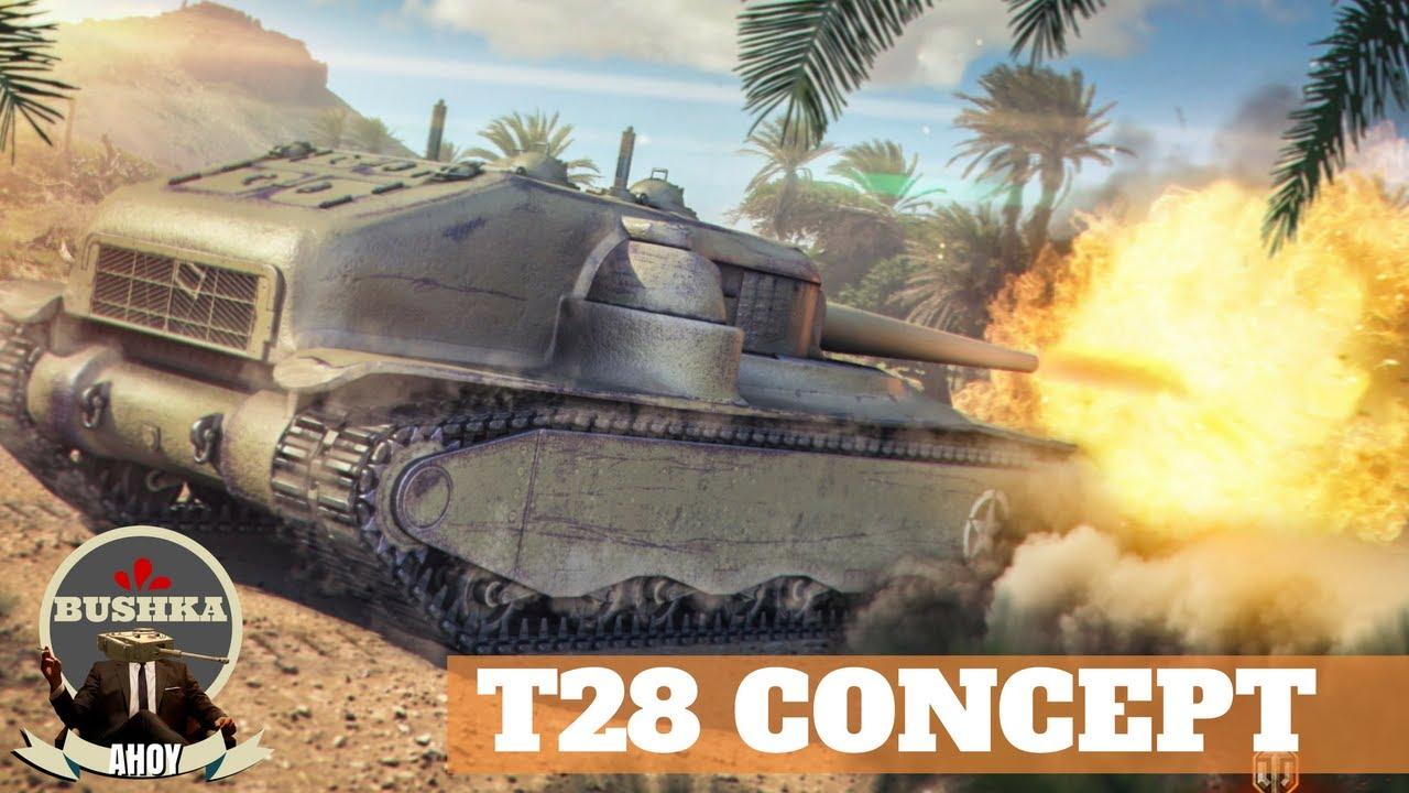 T28 HTC World of Tanks Blitz - YouTube
