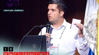 Santiago Cárdenas en Panel: Conociendo los retos que el medio ambiente le impone al periodismo