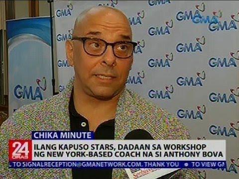 Ilang Kapuso stars, dadaan sa workshop ng New York-based coach na si Anthony Bova