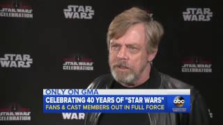 Mark Hamill speaks out from Star Wars Celebration