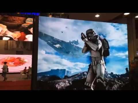 LED Large Outdoor Displays Infocomm 2018