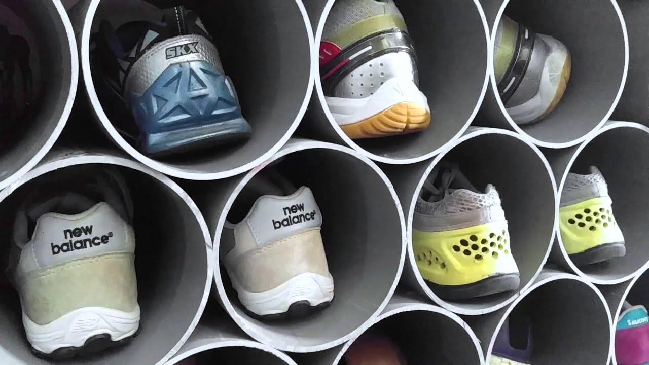 Kệ giày = Ống nước