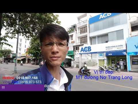 Video nhà bán Mặt tiền Nơ Trang Long quận Bình Thạnh giá rẻ. Vị trí kinh doanh buôn bán sầm uất