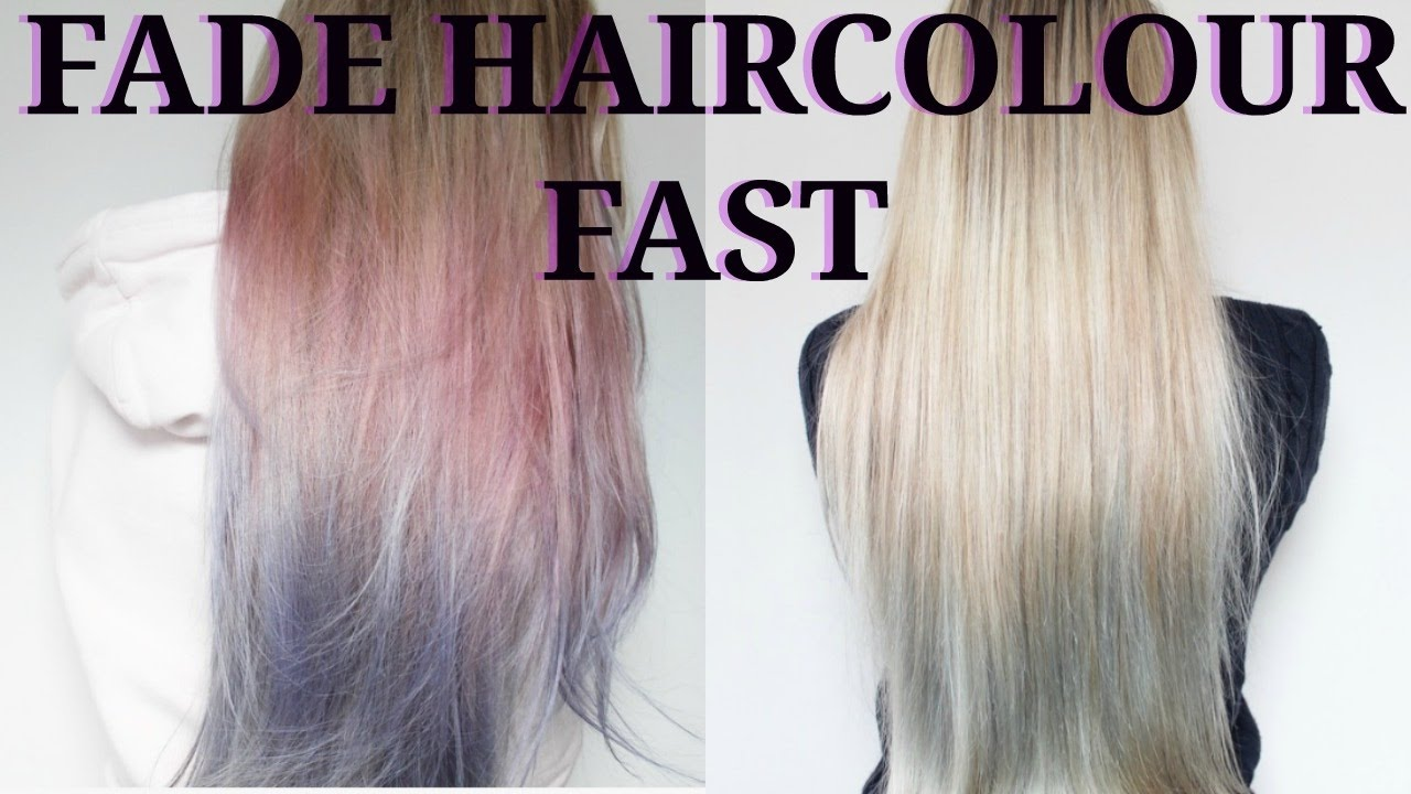 How to Fade l'Oreal COLORISTA Hair Colour FAST - YouTube