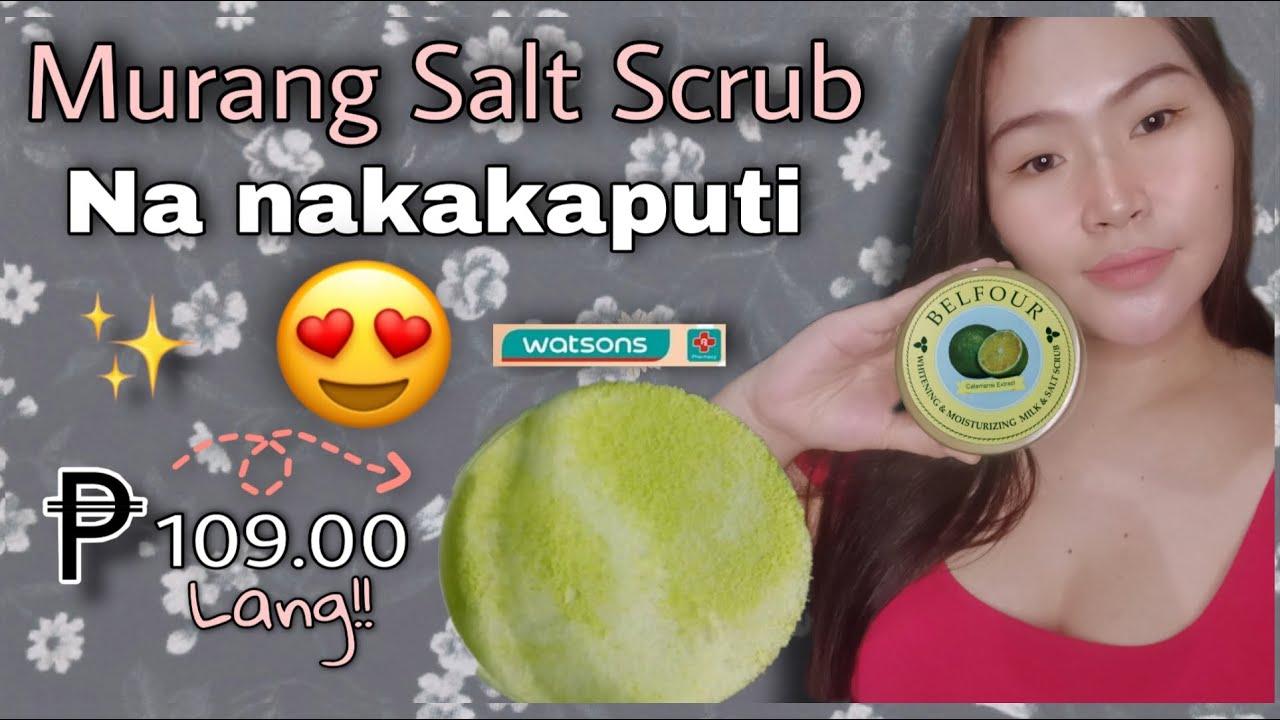 Belfour Calamansi Salt Scrub |Maganda nga ba gamitin? |Product Review| Aisen Park |