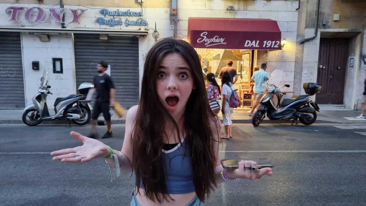 DIT ZAGEN WIJ NIET AANKOMEN!! | PLOTTWIST VAKANTIE ITALIË - Bibi