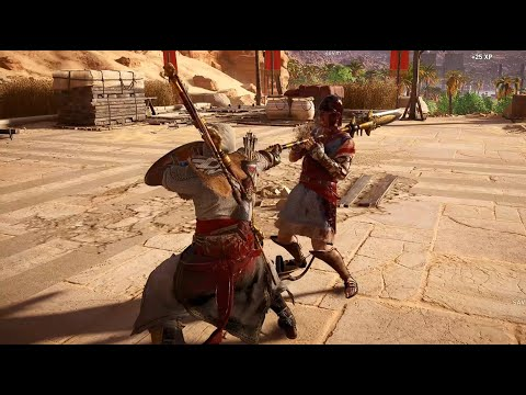 Assassin's Creed Origins - Combat gameplay |