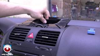 2008 Volkswagen GTI Radio Removal