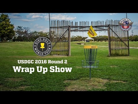 2016 United States Disc Golf Championship Round 2 Wrap Up Show