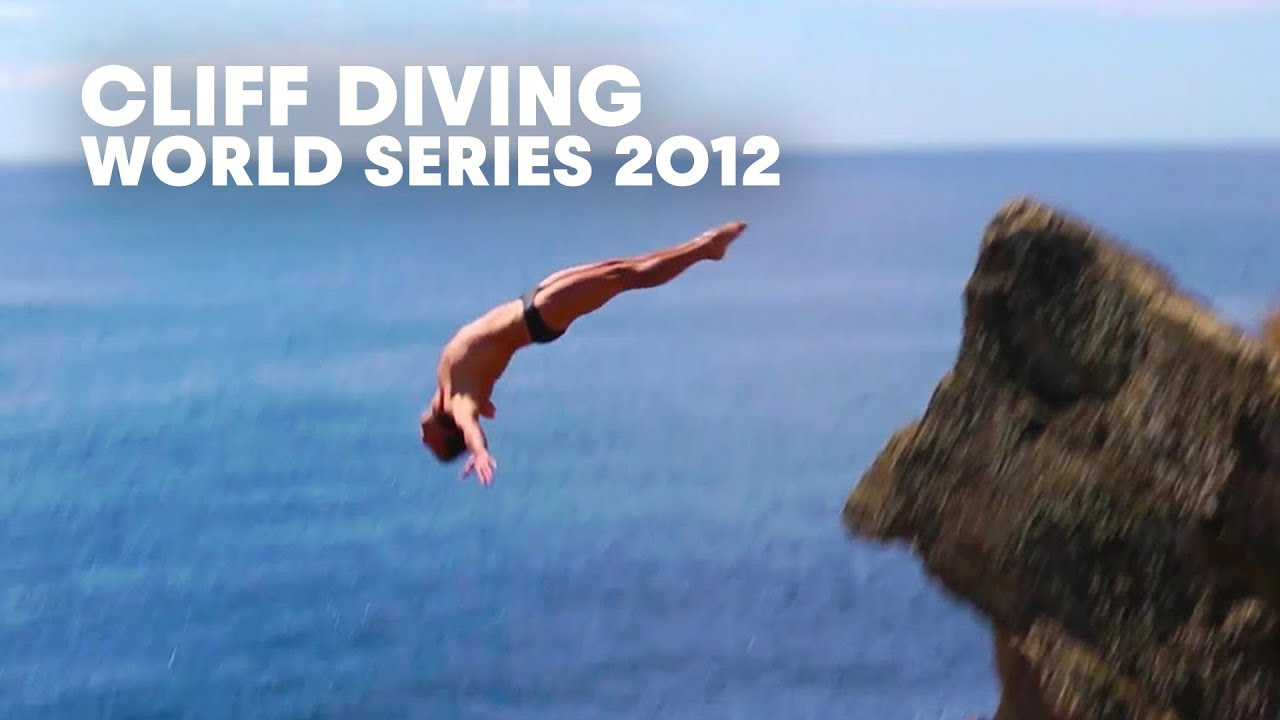 Wearing the label cliff diver with pride red bull - The cliff dive ...