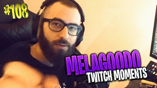 MARZAA RISCHIA IL BAN  | IL KING DEI TRICK IS BACK | Melagoodo Twitch Moments [ITA] #108