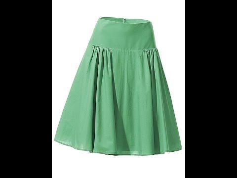 Как сшить пышную юбку на кокетке