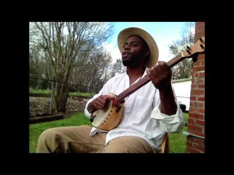 Cedric Watson on gourd banjo Darlin Cori