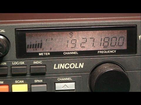 Tuning & Repair CB Radio President Lincoln # 1