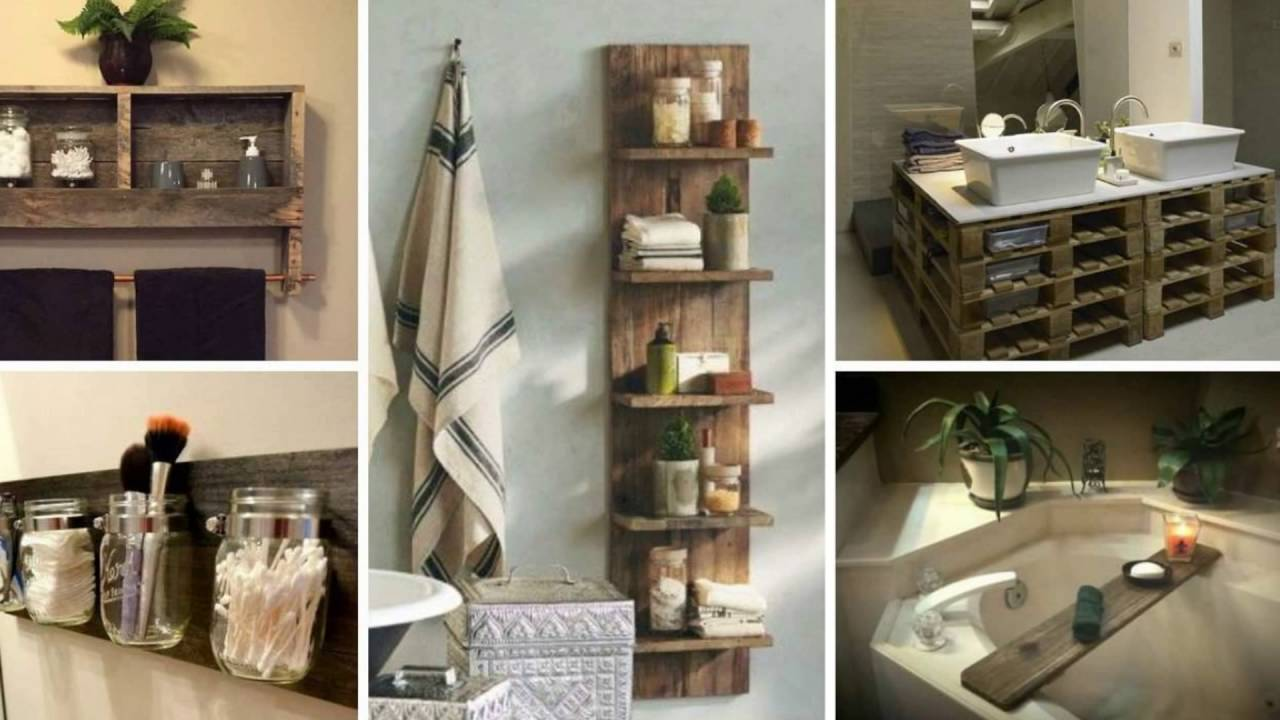 Superbe Diy Pallet Project Bathroom