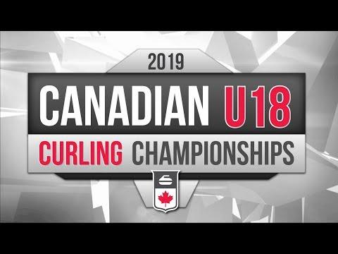 Canadian U-18 Curling Championship - Draw 6