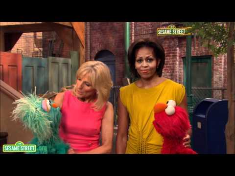 First Lady Michelle Obama, Dr. Jill Biden, Sesame Street Military Community PSA