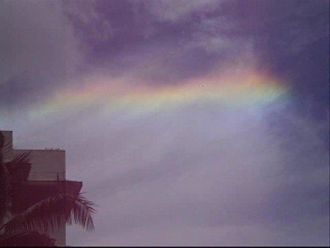 Rainbow Cloud - Circumhorizontal Arc