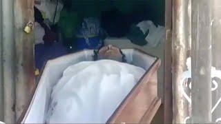 República Dominicana, cadáver suda y abre los ojos después de muerto | Al Rojo Vivo | Telemundo