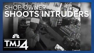 Surveillance video captures shootout between would-be burglars, Bouchard
