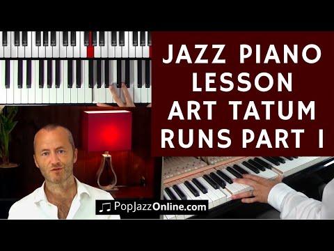 Art Tatum runs Jazz Lesson - Ragtime to Stride Piano Part 1/2