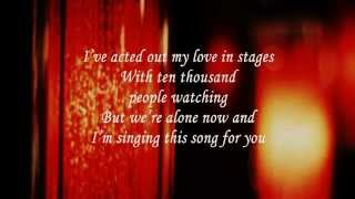 Leon Russell A Song For You (Lyrics)