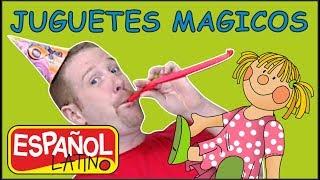 Juguetes para Niños | Aprender con Steve and Maggie Español Latino | Cuentos Infantiles