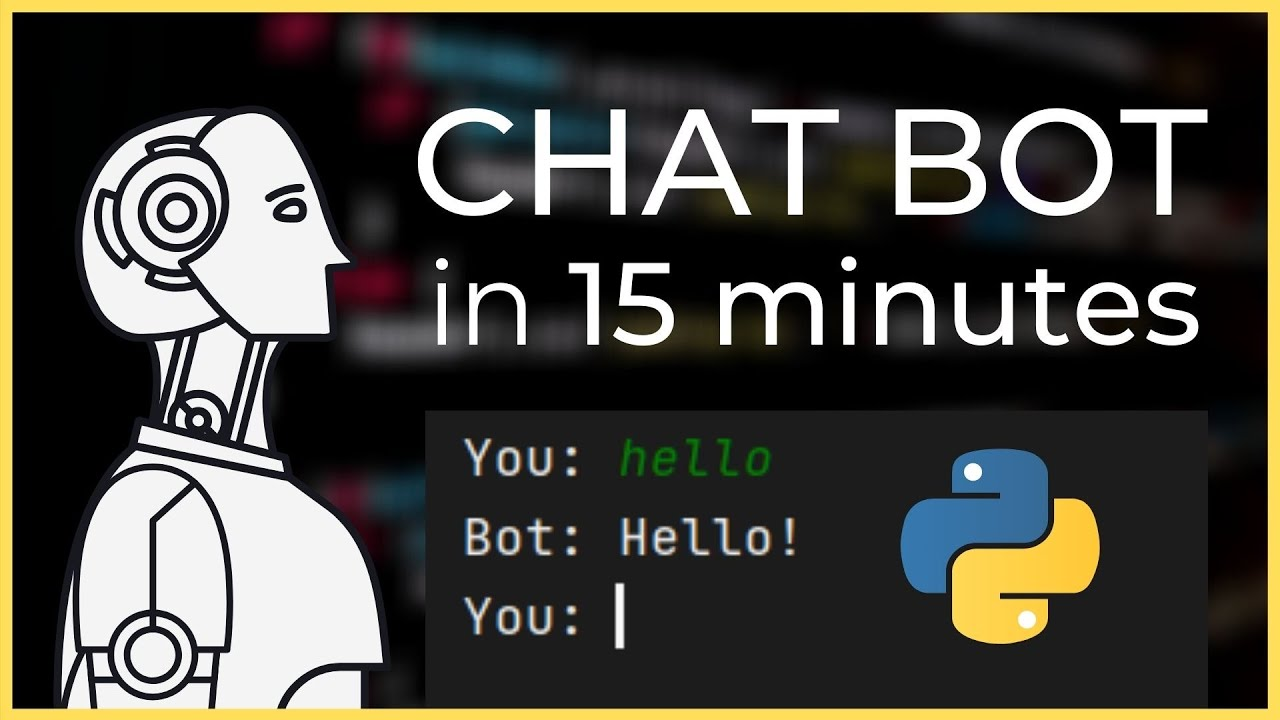 How to create an accurate Chat Bot Response System in Python Tutorial (2021)