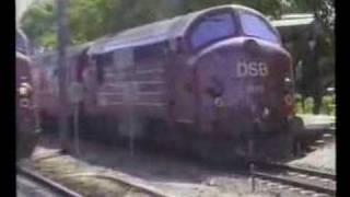 DSB Mx 1013 og 1019 Veksø 1989