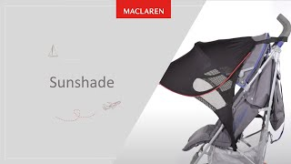 How to attach Sunshade