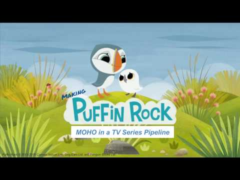 Making Puffin Rock -  Moho in a TV Series Pipeline: Webinar Replay