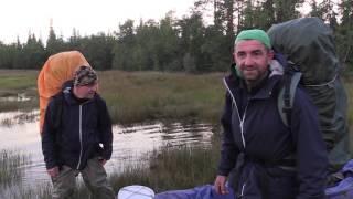 4 - я серия. Выход в Белое море. Заброска на реку Кереть. Пеше - водный поход. travels