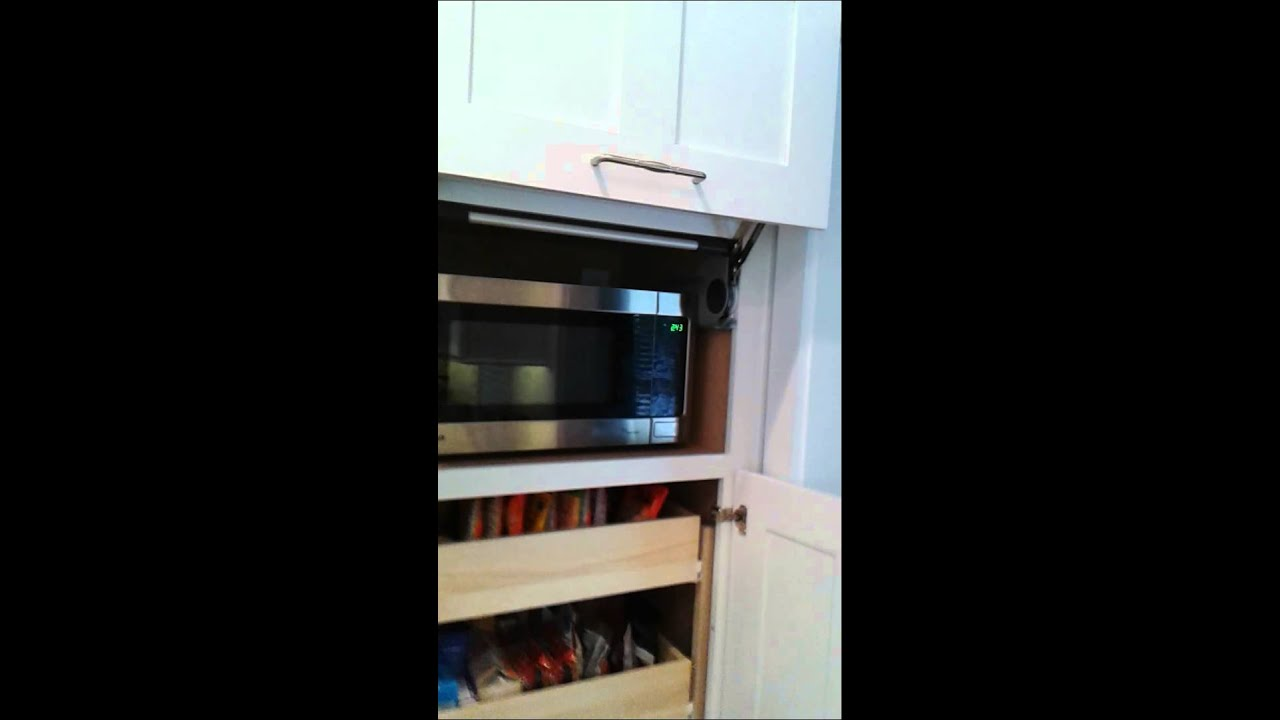 Blum Aventos lift up door for microwave  YouTube