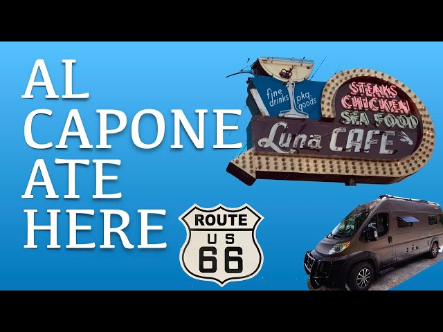ROUTE 66 Vanlife Springfield to St Louis. Al Capone 🚓, 1934 Restaurant, Rabbit 🐇 Ranch, Roadhouse 🥃