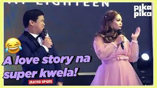 Ogie Diaz at asawang si Georgette, kinuwento kung paano nabuo ang debutante nilang panganay