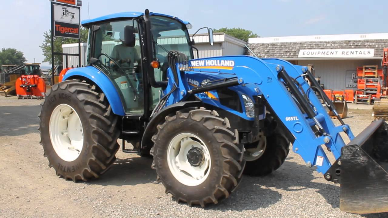 New Holland T5 >> New Holland T4.115 Tractor - YouTube