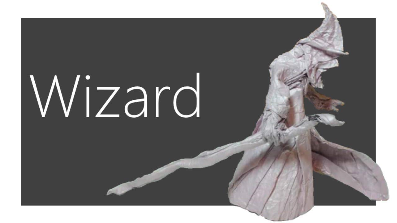 Wizard Origami Tutorial Satoshi Kamiya