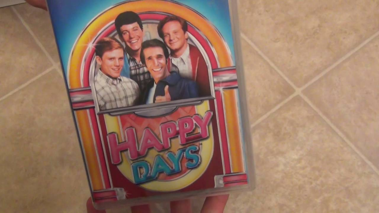 Happy Days Seasons 1 6 Dvd Collection Unboxing Youtube