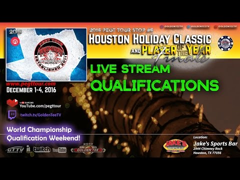 PEGTTOUR - 2016 Houston Holiday Classic - Sunday Player of the year Finals